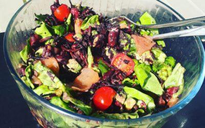 Salade complète toute en couleurs