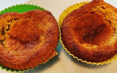 Délicieux muffins 100% végétaux, sans oeufs sans lactose avec ou sans gluten