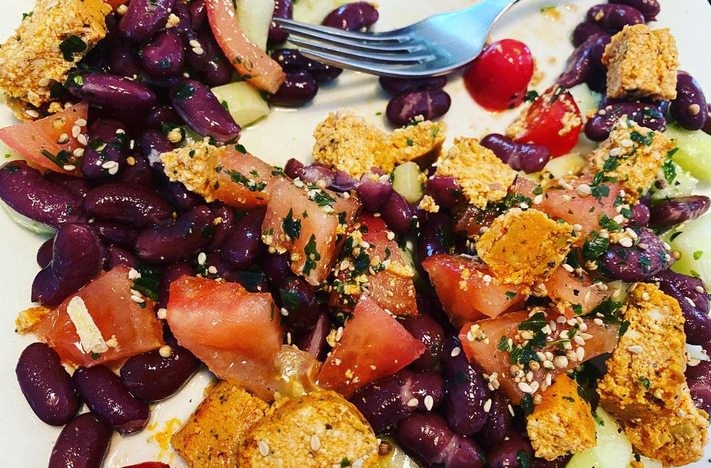 Lunch ultra rapide aux protéines végétales