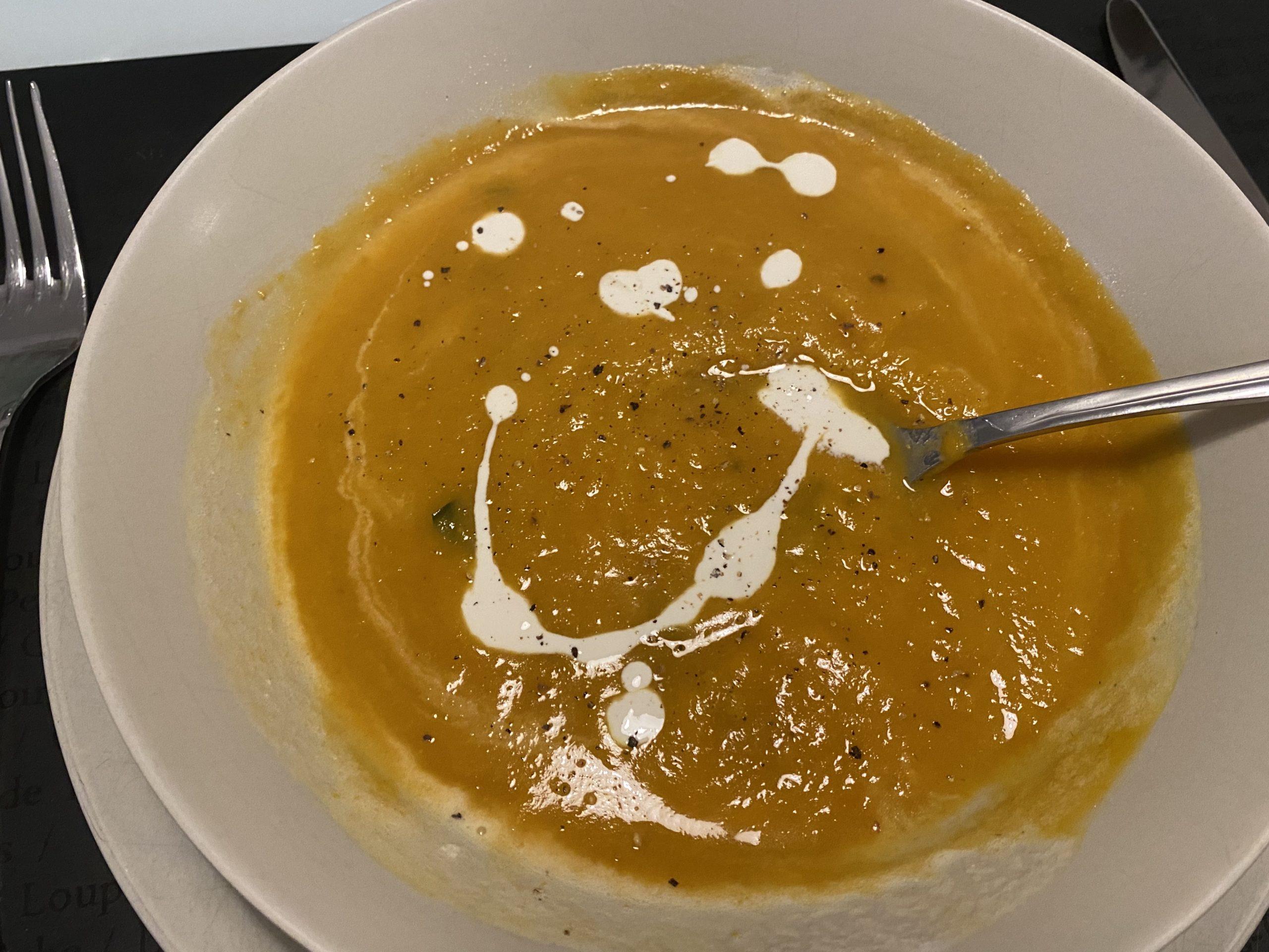 Soupe spécial carotenoïdes cuisson vapeur