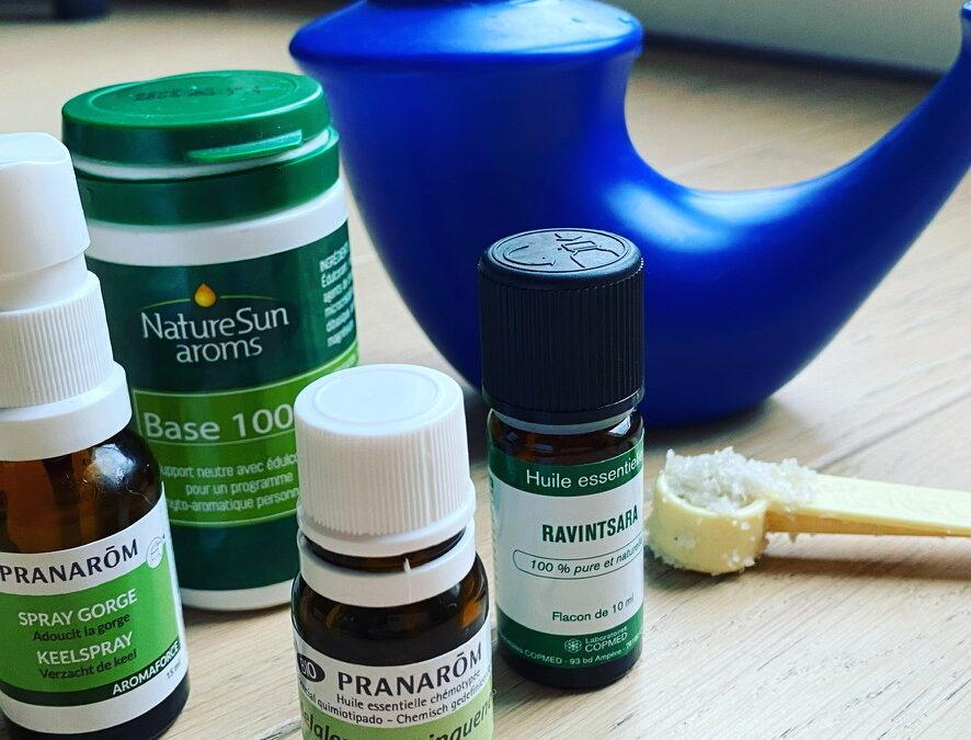 Remèdes naturels premiers signes de rhume ?