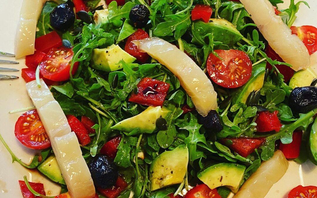 Salade repas, fraîcheur et antioxydants